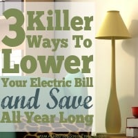 3 Killer Ways To Lower Your Electric Bill And Save All Year Long