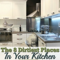 The 8 Dirtiest Places In Your Kitchen
