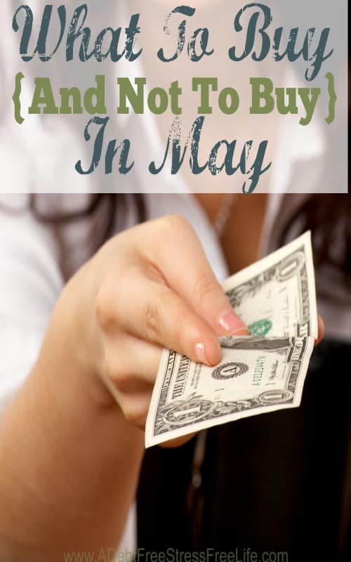 what to buy in may, what not to buy in may, when to buy a refigerator