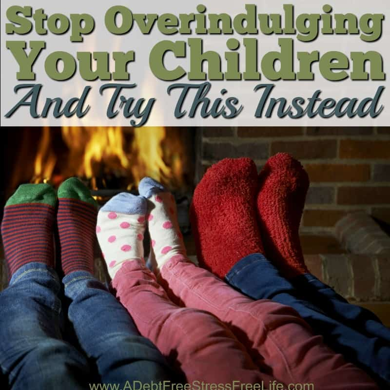 We've all seen it; the house that's filled to the brim with children's toys.  They fill every corner of the room, turning a once pretty and organized home into complete chaos.  It's overindulging at it's best.  But why do parents feel the need to overindulge their children?  What's the motivation and how can you change?