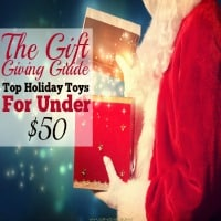 The Gift Giving Guide:  Top Holiday Toys Under $50 {All Ages}