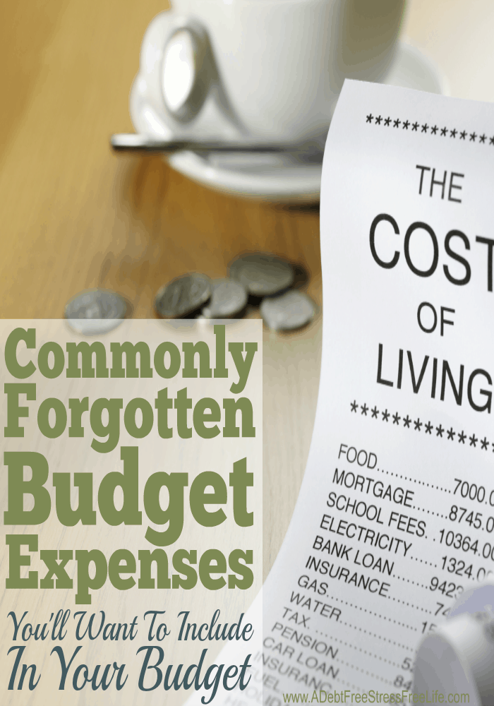 When we budget it's easy to remember the big items like rent, food, and the light bill. But what about all those other expenses that can derail a budget is seconds flat? Here's the most comprehensive list of budget items you've probably forgotten but should include in your spending plan.
