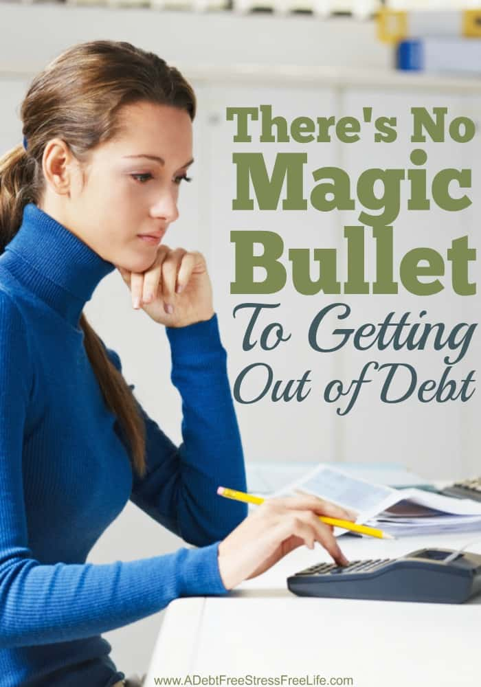 There's no magic bullet to getting out of debt. It's tried and true principals that will help you gain financial freedom. Here's the six main principals you should start utilizing on your debt free journey. Our favorite is #4!