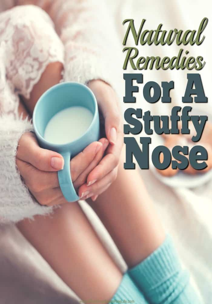 Stuffy nose no more! These remedies really work. If you've been suffering with a stuffy nose, you'll love these strategies to get you breathing again. And all drug free!