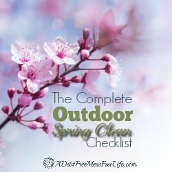 The Complete Outdoor Spring Clean Checklist