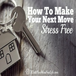 How To Make Your Next Move Stress Free