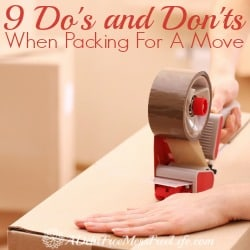 9 Do's and Don'ts When Packing For A Move