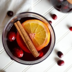 Spiced Cranberry Orange Sangria – Debt Free DIY Holiday Ideas