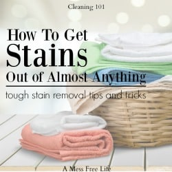 How To Remove Tough Stains