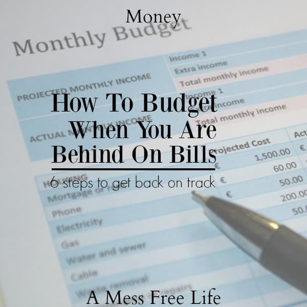 how to budget when you are behind on bills best budgeting strategies