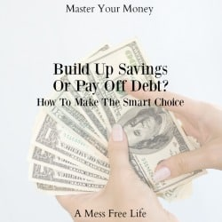 Making the Smart Choice – Should You Build Up Savings or Pay Off Debt